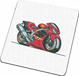 Personalised Koolart Honda SP1 VTR Motorbike Glass Coaster