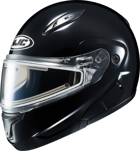 Hjc Cl-Max 2 Snow Black With Electric Shield Helmet 5X-Large