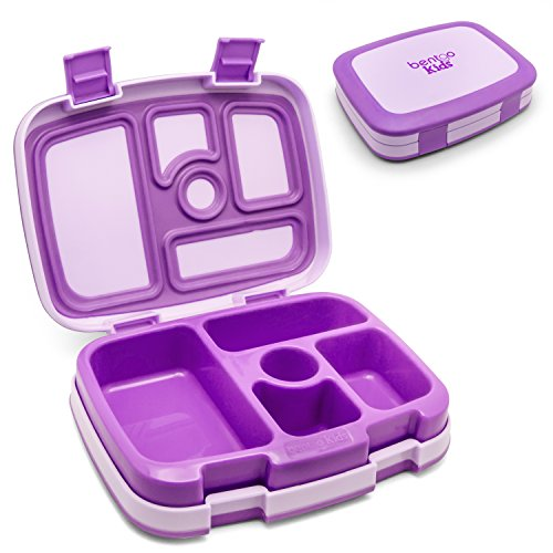 Bentgo Kids - Leakproof Children's Lunch Box (Purple) (Bento Box With Ice Pack compare prices)