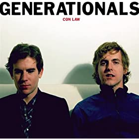 The Generationals - Con Law album cover art