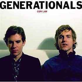 The Generationals - Con Law album cover art