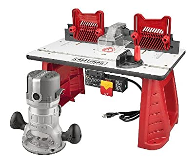 Craftsman Router and Router Table Combo from Craftsman