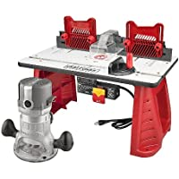 Craftsman Router and Router Table Combo + $11 Sears Credit