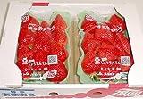 福岡産 「博多あまおう」イチゴ 大粒2パック入り箱