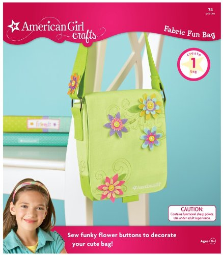 Cool Colors Warm Fun Fabric Bag Kit (American Girl Crafts)