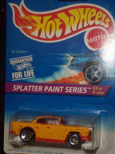 Splatter Paint Series #3 55 Chevy Mint #410 1:64 Scale - 1
