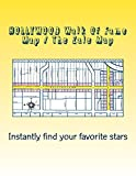 Instantly find every celebrity star on the HOLLYWOOD Walk Of Fame with The Zale Map 2015 Edition.The Zale Map Of The HOLLYWOOD Walk Of Fame is the first ever gridded & numbered map of the entire star walk, from La Brea to Gower and from Y...