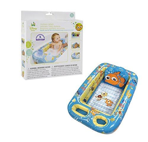 Disney Pixar Inflatable Safety Bathtub, Finding Nemo (Baby Nemo Bath Tub compare prices)
