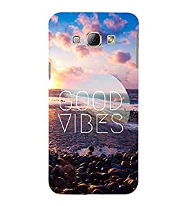 Good Vibes 3D Hard Polycarbonate Designer Back Case Cover for Samsung Galaxy A8 (2015 Old Model) :: Samsung Galaxy A8 Duos :: Samsung Galaxy A8 A800F A800Y