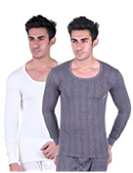 Unix Men Thermal Wear Tops Pack Of 2 (UN3614-$P)