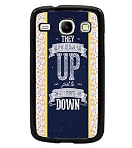 PrintDhaba Quote D-4821 Back Case Cover for SAMSUNG GALAXY CORE i8262 (Multi-Coloured)