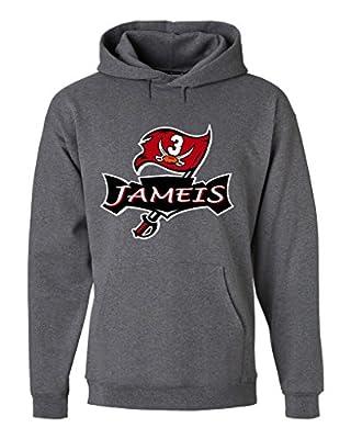 "Jameis Winston Tampa Bay Buccaneers ""LOGO"" Hooded Sweatshirt"