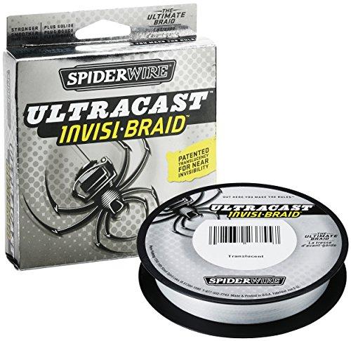 SPIDER WIRE/スパイダーワイヤー ULTRA CAST/ウルトラキャスト INVISI BRAID/ インビジブレイド 50lb/5.5号 125YDの商品画像