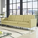 Loft Wool Sofa, Green