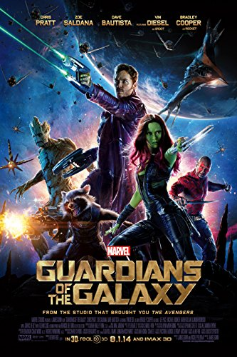 "Guardians Of The Galaxy - Movie Poster (Regular Style) (Size: 24"" x 36"")"