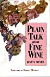 img - for Plain Talk about Fine Wine book / textbook / text book