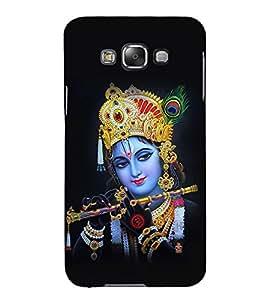 Akshara Kishan Kishna 3D Hard Polycarbonate Designer Back Case Cover for Samsung Galaxy E5 :: Samsung Galaxy E5 E500F (2015)