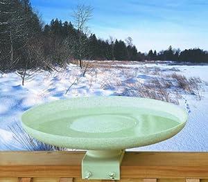Allied Precison Kozy Bird Spa-Heated Bird Bath with Deck Mount
