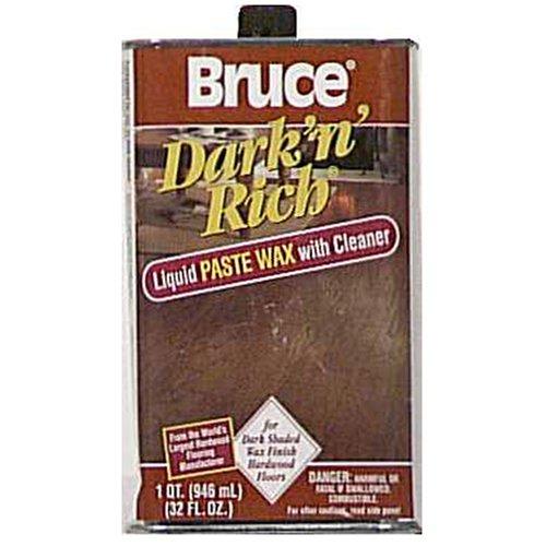 Bruce Hardwood Floors 32oz Dark Wood Wax W105 Household