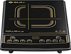 Bajaj Popular Plus 1900-Watt Induction Cooker (Black)