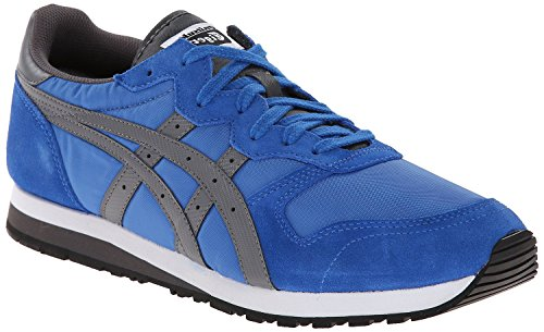 Onitsuka Tiger OC Runner Classic Running Shoe, Strong Blue/Grey, 12 M US