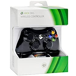 Dealingames Xbox 360 Wireless Controller For Windows [Xbox 360] And Free Key Chain of PS3 Remote Look