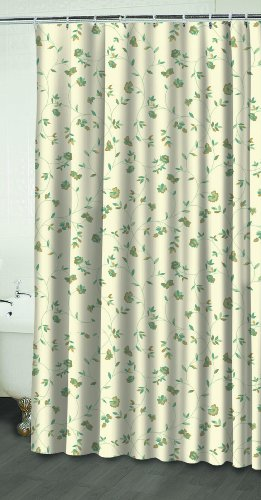 Waverly By Famous Home Fashions Rosabella 100 Percent Polyester Shower Curtain Shower Curtains