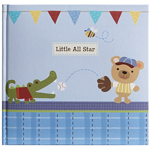 C.R. Gibson Stepping Stones Recordable Photo Album, Little All Blue Star