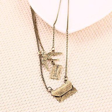 Letter N Necklace