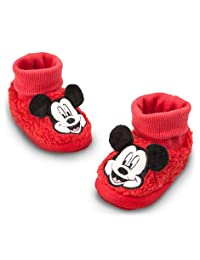 Disney Mickey Mouse Socktop Baby Toddler Slippers