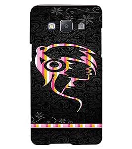 PrintVisa Girly Punk Headphones Music 3D Hard Polycarbonate Designer Back Case Cover for Samsung Galaxy A5