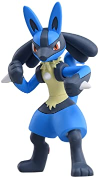 MSP-04 Pokemon Monster Collection supersize series Lucario (japan import)