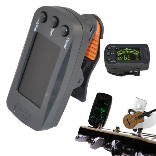 Erusun® Guitar Bass Violin Meideal T83Gw Simple Practical Mini Lcd Clip On Auto Tuner