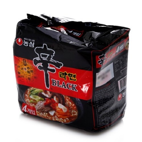 Nongshin Shim Ramen Noodles Black Pack Of 4
