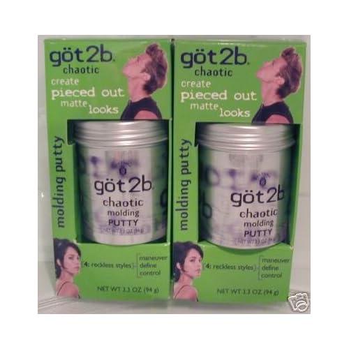 Amazon.com : GOT2B CHAOTIC MOLDING HAIR PUTTY 3.3 OZ JAR NEW : Beauty