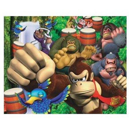 Cheap Hobbico Visual Echo 3D Effect Nintendo Donkey Kong 100pc Lenticular Puzzle (B000JLJ9BG)