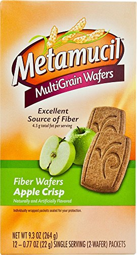 Metamucil MultiGrain Wafers Apple Crisp | Metamucil | Beautil