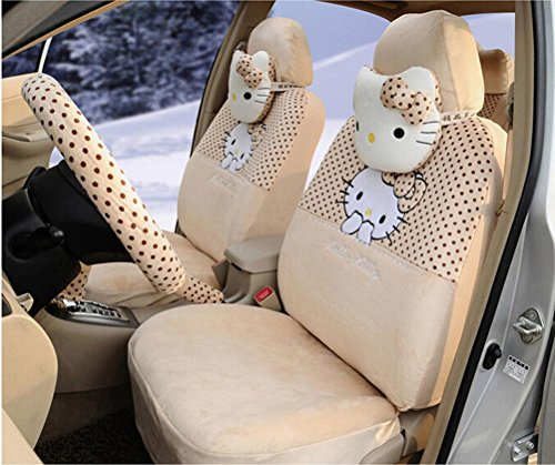 lovely-cartoon-car-seat-covers-18pcs-automotive-car-front-and-rear-seat-covers-car-steering-wheel-co