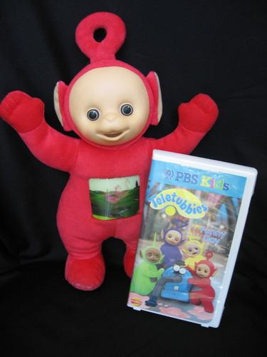 Amazon.com: Teletubbies Talking Tubby Plush with Video: Po: Toys
