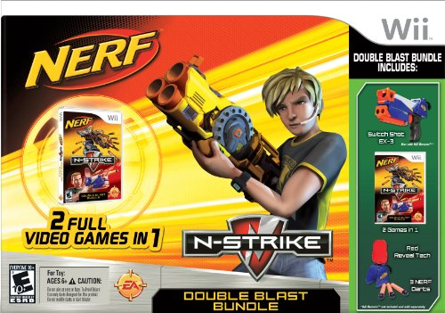 Double Nerf Pistol N-Strike Blast Bundle
