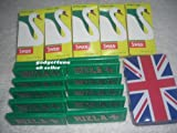 Swan extra slim fresh filter 600+rizla green regular size 600+ free Tobacco tin+free postage & packaging