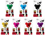 Disney Light Up Key Holder Mickey Mouse Icon Set Of 7