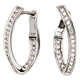 """Damen-Creole 42 Diamant-Brillanten 14 Karat (585) Wei�gold 0.273 ct.von """"Dreambase"""""""