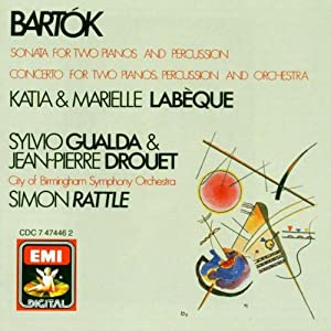 for Two Pianos, Percussion and Orchestra - Katia & Marielle Labèque