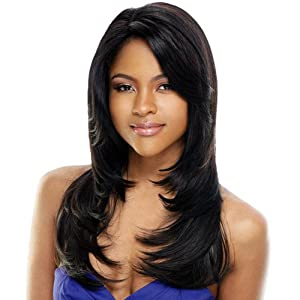 AMBER - Shake N Go Freetress Equal Lace Front Fresh Hairline Wig #GF8643