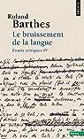 Le bruissement de la langue par Barthes