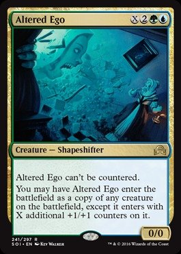 Magic: the Gathering - Altered Ego (241/297) - Shadows Over Innistrad
