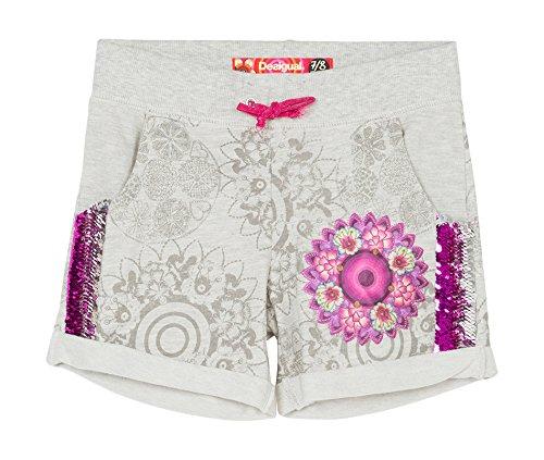 Desigual Mallard-Shorts Bambina    White (Blanco Mistico) 11 Anni
