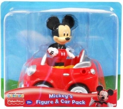 Disney Mickey Mouse Clubhouse Mickey's Figure Car Pack