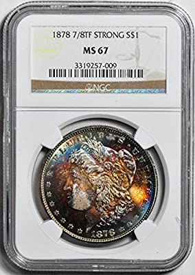 1878 Morgan Dollar MS67 NGC